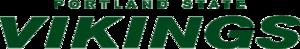 2013 Portland State Vikings football team - Image: Portland State Vikings Script