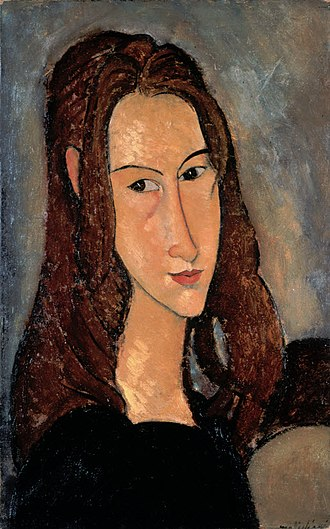 Jeanne Hébuterne - Hébuterne by Modigliani, 1918