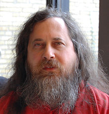 Richard Stallman at DTU in Denmark 2007