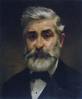 Philippe Chaperon - Portrait of Chaperon by Paul Mathey