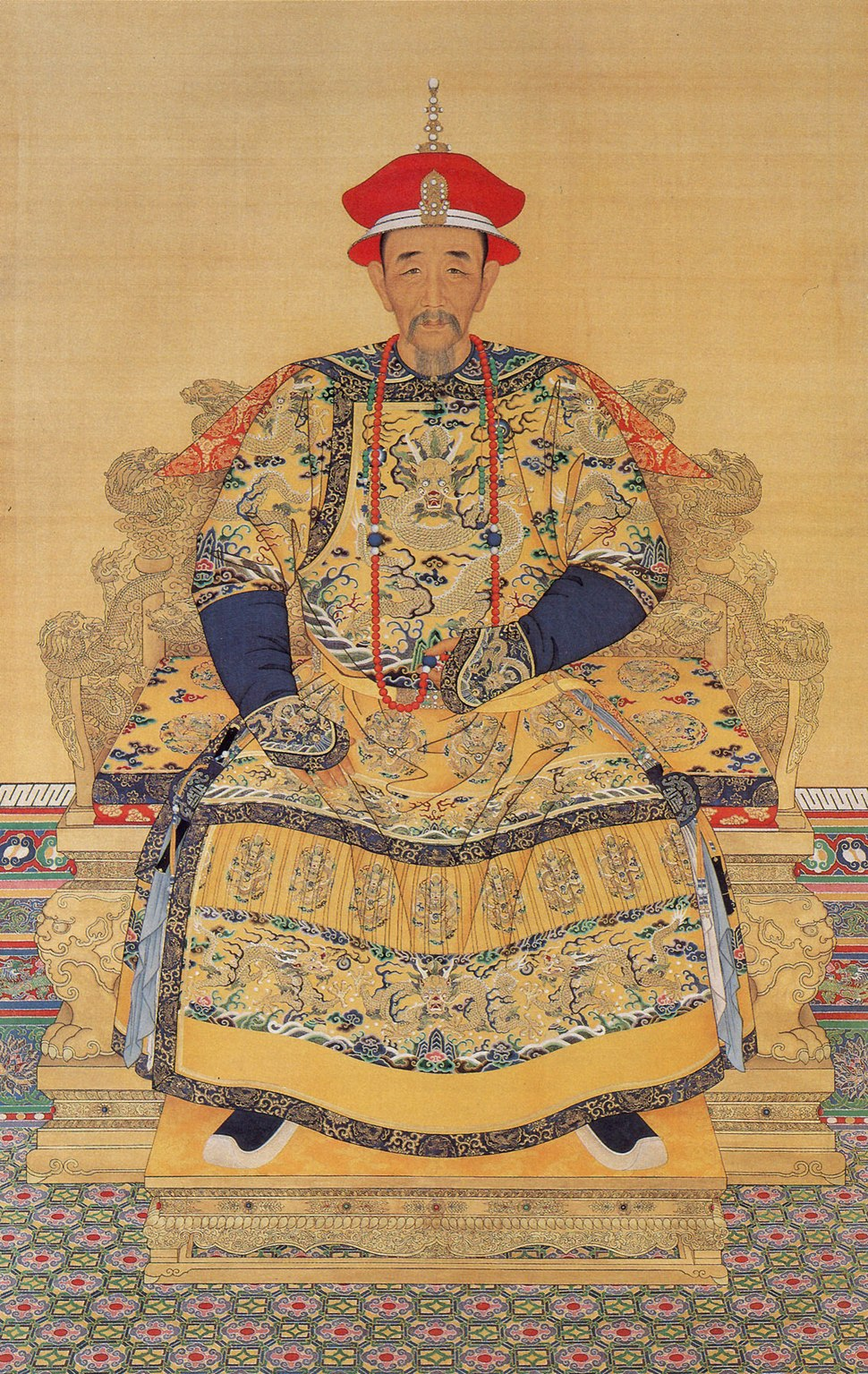 Portrait of the Kangxi Emperor in Court Dress