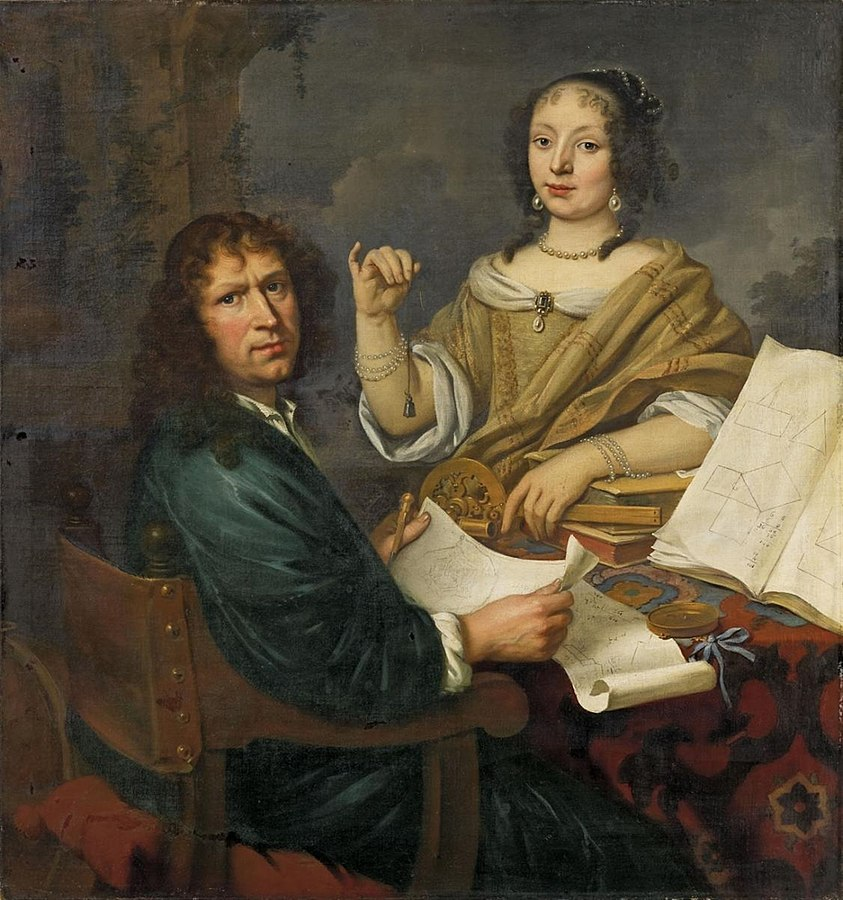 Portrait of a Fortress Architect and his Wife