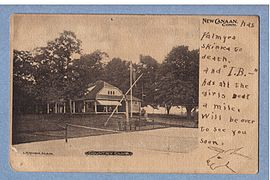 PostcardCountryClubNewCanaanCT1906