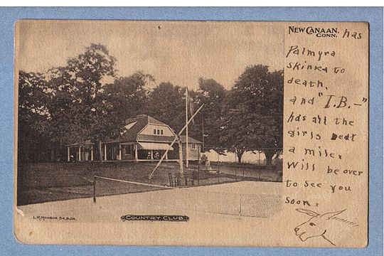 Postcard of The Country Club, ca. 1906