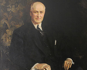 James A. Farley Post Office Building - Official portrait of the 53rd Postmaster General