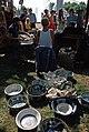 Pottery vendor at Bumbershoot, 1973 (30331928828).jpg