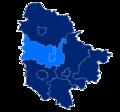 Powiat trzebnicki granice gmin i miast Prusice.png