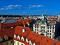 Praha - Klementinum - Astronomical Tower - View ENE towards Magistrate City Hall.jpg