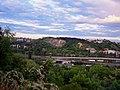 Praha - Pod Žvahovem - View ESE towards Branik.jpg