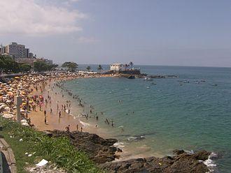 Porto da Barra Beach - Image: Praia do Porto da Barra 1