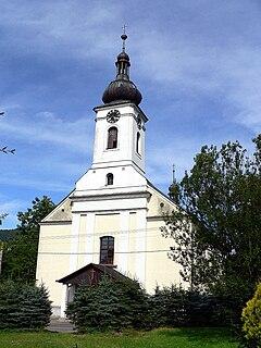 Pražmo Village in Moravian-Silesian, Czech Republic