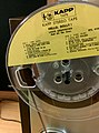 Prerecorded quarter-inch magnetic tape - Louis Armstrong (16679612437).jpg