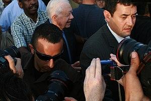 President Carter in Sheikh Jarrah Demonstration.JPG