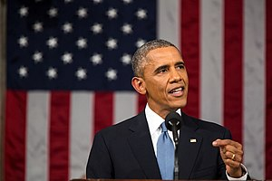 2015 State of the Union Address - President Barack Obama gives the State of the Union Address on January 20, 2015