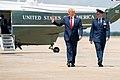 President Trump Arrives at Joint Base Andrews (48135410636).jpg