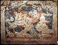 Produzione greca o magnogreca, sarcofago dipinto delle amazzoni, 350-325 a.C. ca, da tarquinia 18.jpg