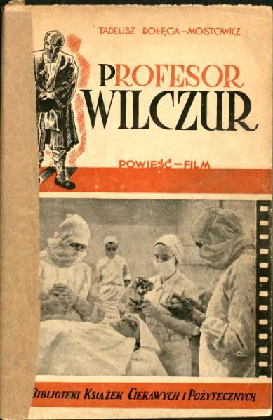 File:Profesor Wilczur t. 1 (Tadeusz Dołęga-Mostowicz).djvu