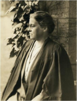 Professor Georgiana Goddard King at Bryn Mawr College (ca 1910).png