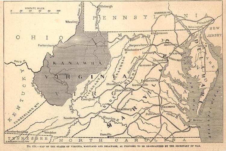 Proposed state of kanawha