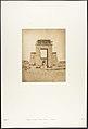Propylone du Temple de Khons, à Karnac, Thèbes MET DP131865.jpg