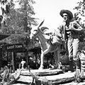 Prospectors Monument, Knott's Berry Farm, July 1961 (4724915050).jpg