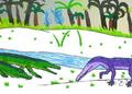 Proterochampsa en Chanaresuchus JWArtwork.png