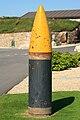 Proxectil dos canóns Vickers de 381 mm, A Coruña.jpg