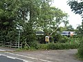 Public Footpath at Arksey Level Crossing - geograph.org.uk - 1344331.jpg