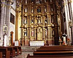 Puebla - Templo de Santo Domingo - Autel.JPG
