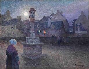 The Wayside Cross at Rochefort-en-Terre