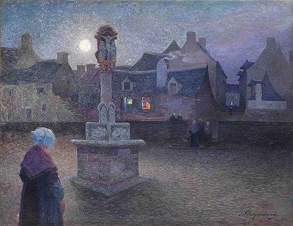 费迪南德皮孤独法国画家Ferdinand Puigaudeau (French, 1864–1930) - 文铮 - 柳州文铮