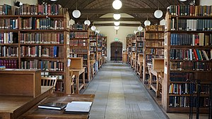 Pusey House, Oxford - Upper Library, Pusey House