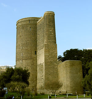 Baku City Circuit - The Maiden Tower, near turn 18