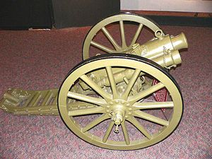 Jacob L. Devers - A QF 2.95-inch mountain gun