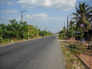 Cao Lãnh District District in Mekong Delta, Vietnam