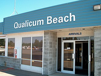 Qualicum Beach Airport - Image: Qualicum beach airport