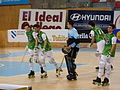 Quecemento HC Liceo, Pazo dos deportes Riazor, A Coruña, HC Liceo vs CP Vic.JPG