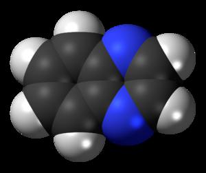 Quinoxaline - Image: Quinoxaline 3D spacefill