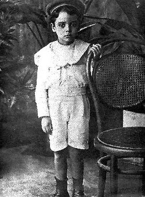 Rómulo Betancourt - Rómulo Betancourt during his childhood
