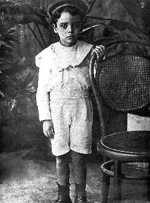 Rómulo Betancourt - Rómulo Betancourt during his childhood