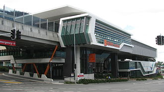 Herston, Queensland - Royal Brisbane and Women's Hospital busway station