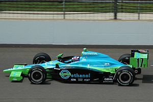 Rahal Letterman Lanigan Racing - The Rahal Letterman car at Indianapolis in 2008