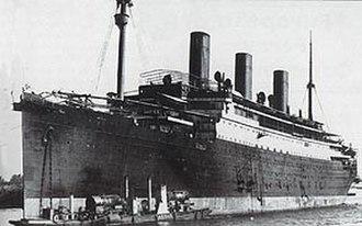 RMS Empress of Australia (1919) - Image: RMS Admiral Von Tirpitz