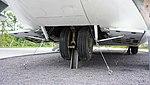 ROKAF C-123K(54-509) nose landing gear left front view at Jeju Aerospace Museum June 6, 2014.jpg