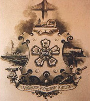 Rensselaer Society of Engineers - Image: RSE Crest
