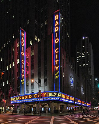 Radio City Music Hall - Image: Radio City Music Hall Panorama