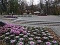 Radom - widok na Pomnik Kochanowskiego - panoramio.jpg