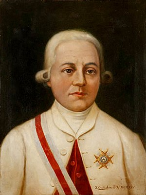 Córdoba, Argentina - Rafael de Sobremonte, governor of Córdoba from 1784 to 1799
