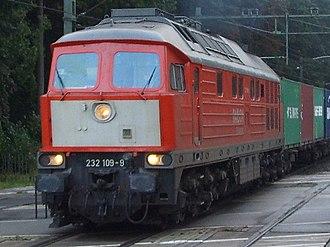 Luhanskteplovoz - Image: Railion 232 109