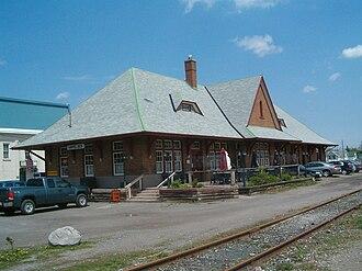 Havelock-Belmont-Methuen - Railway station in Havelock, 2007